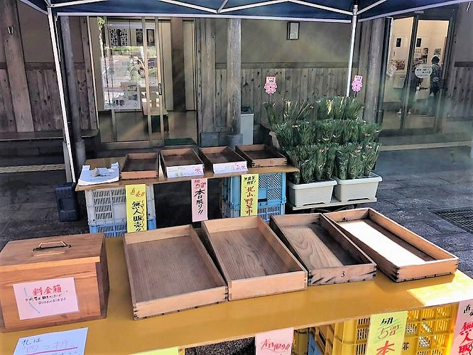 15時には、高野槇以外の野菜は、見事に完売しました。