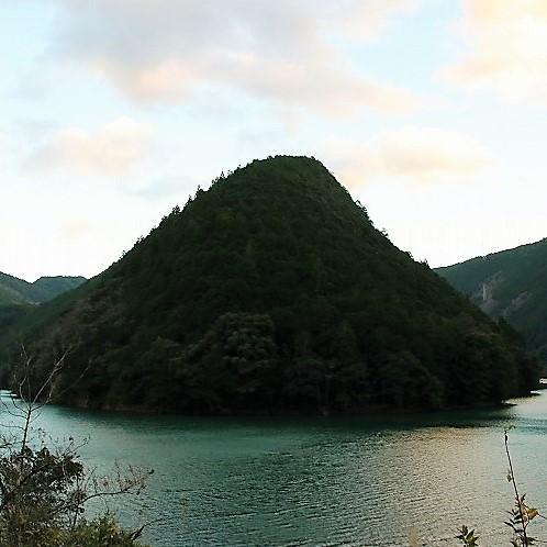 北山村のviewポイントその②:北山川の蛇行