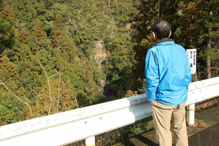 北山村のviewポイントその③:なべわりの滝